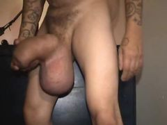 Huge cock demonstration