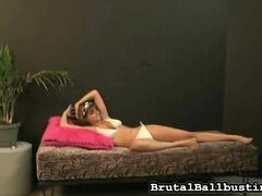 Amber's Ballbusting Online Date